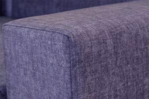 Πολυμορφικό σαλόνι γωνία με ξύλινη βάση