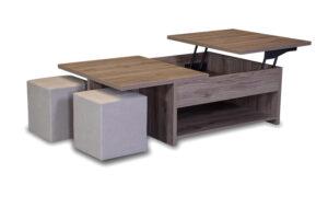 Πολυμορφικό τραπέζι με σερβιτόρο