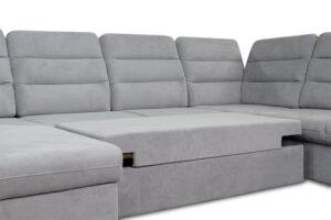 Καναπές κρεβάτι σε σχήμα Π